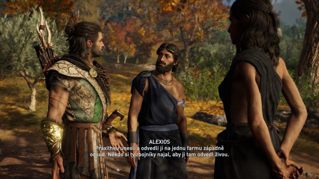 Assassin´s Creed Odyssey; gameplay: rozhovory