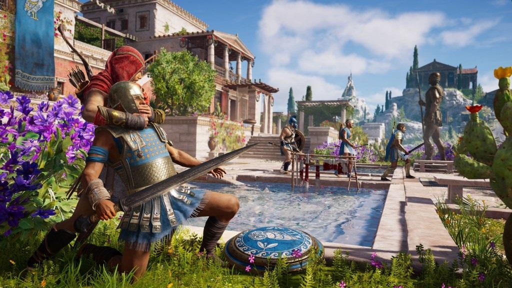 Assassin's Creed Odyssey; screenshot: smrt