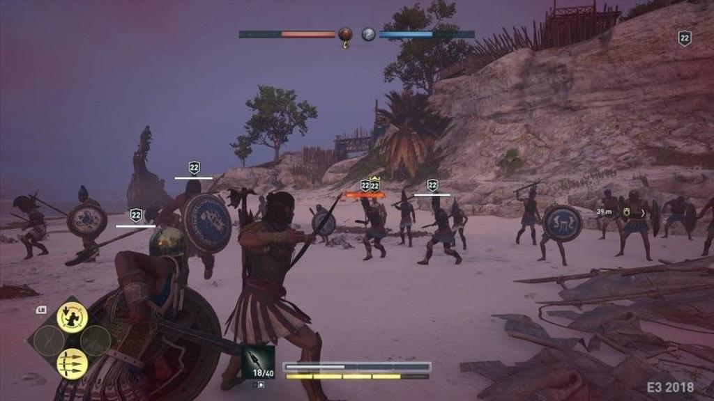 Assassin´s Creed: Odyssey; screenshot: souboje