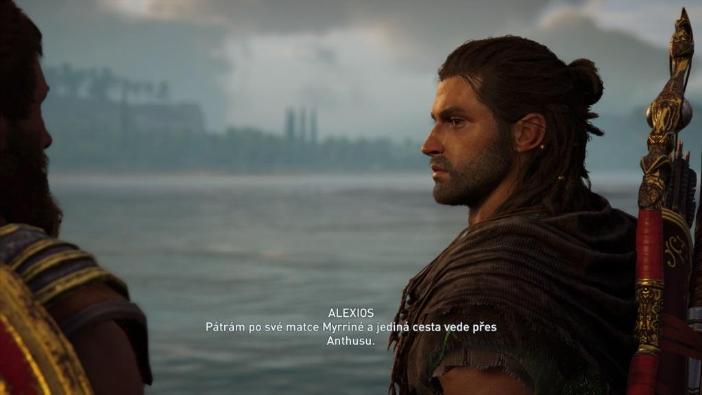 Assassin´s Creed Odyssey; gameplay: české titulky