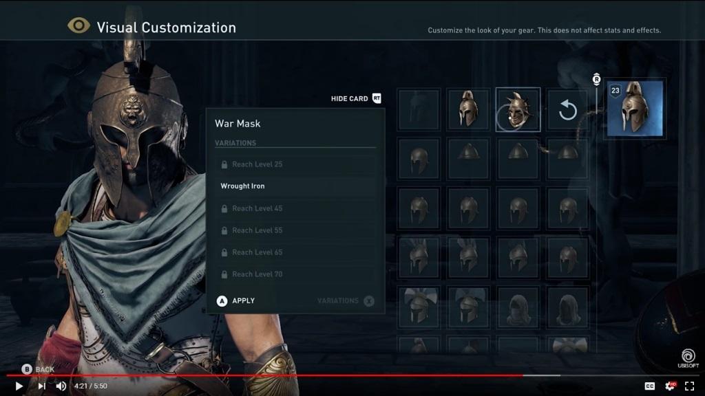 Assassin's Creed Odyssey; screenshot: vizuální úpravy