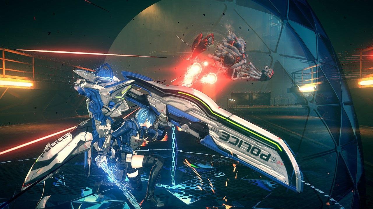 Astral Chain; screenshot: Axe Legion