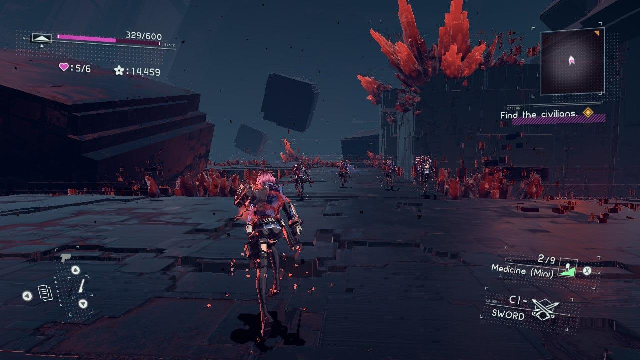 Astral Chain; screenshot: neuron