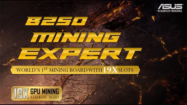 Splněný sen těžaře – Asus B250 Mining Expert
