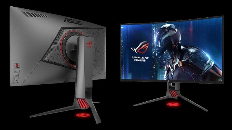 Prohnutý monitor Asus ROG Strix XG27VQ