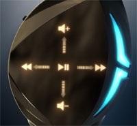 Asus ROG Strix Fusion 500; ovládání