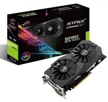 Asus Strix GTX 1050 Ti 4G Gaming