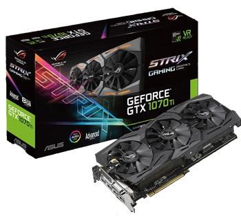 Asus Strix GTX 1070 Ti A8G Gaming