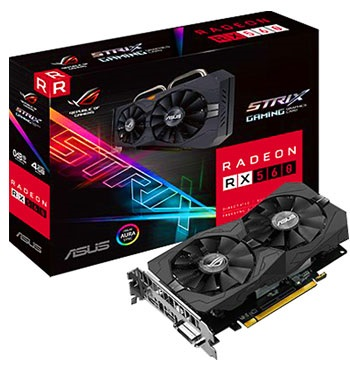 Recenze Asus Strix RX 560 O4G Gaming