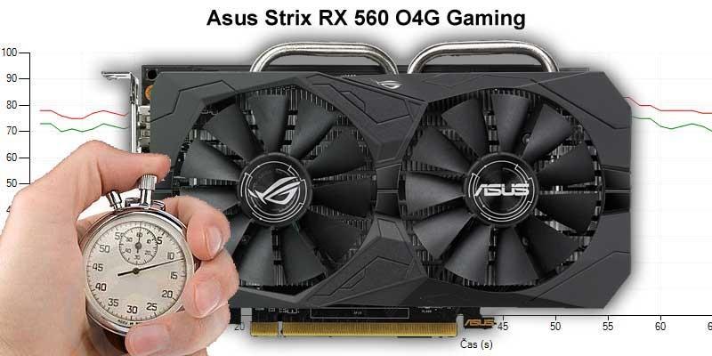Asus Strix RX 560 O4G Gaming (Recenze a testy)