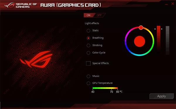 Asus Strix RX 570 O4G Gaming Aura
