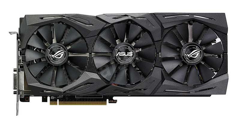 XFX RX 580 GTR-S Black Edition 8GB v testech