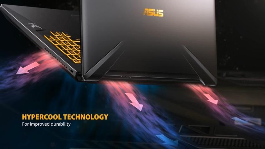 Chlazení ASUS TUF Gaming FX705GM
