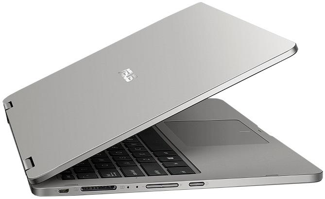 Asus VivoBook Flip 14 pootevřený