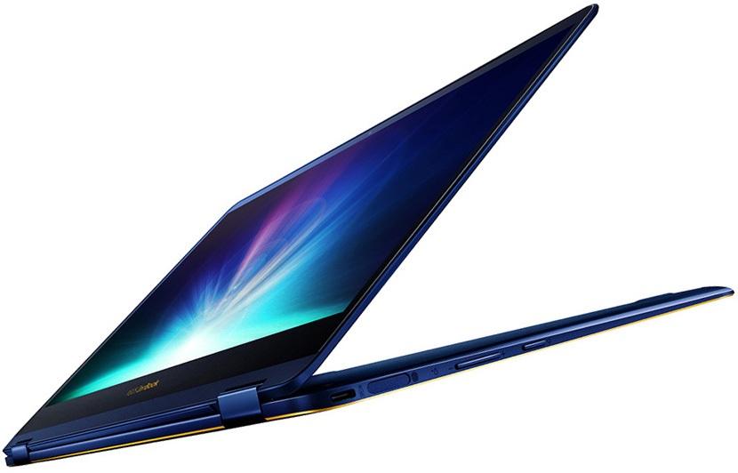 Asus ZenBook Flip S otevřený
