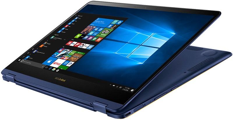 Asus ZenBook Flip S čelní strana