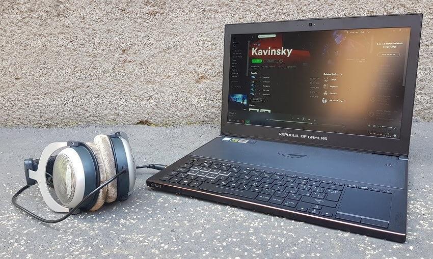 Asus Zephyrus GX501GI – zvuková stránka