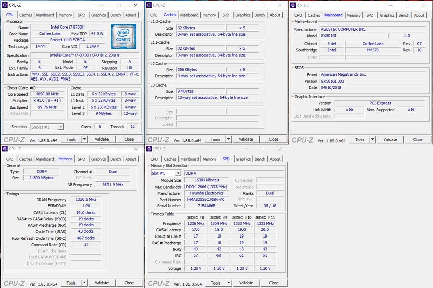 Asus Zephyrus GX501G – technické specifikace