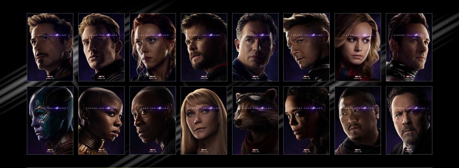 Avengers: Endgame; screenshot: přeživší