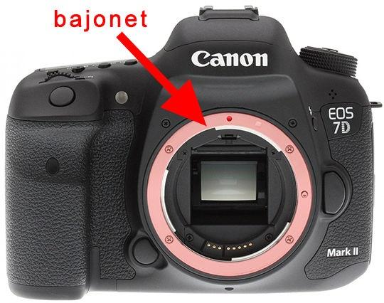 Bajonet fotoaparátu