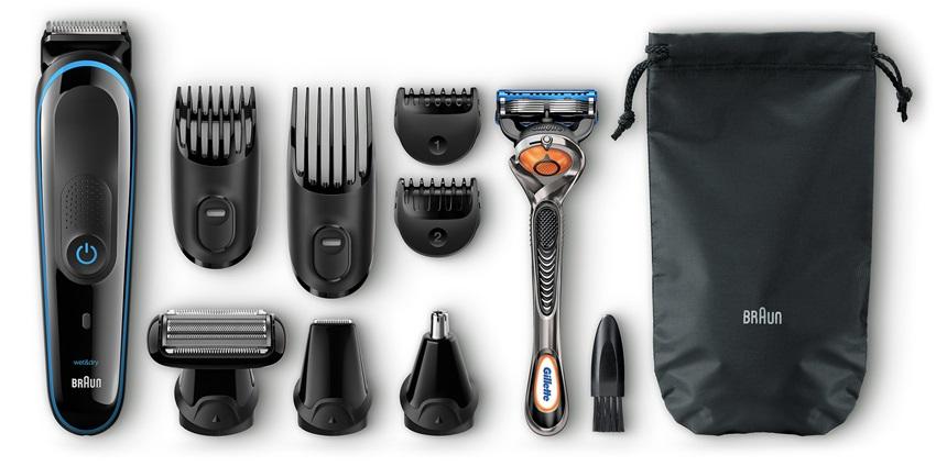 Multifunkční zastřihovač vlasů a vousů Braun MGK 3080