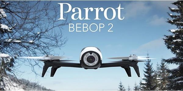 Parrot Bebop 2: nová generace úspěšné kvadrokoptéry