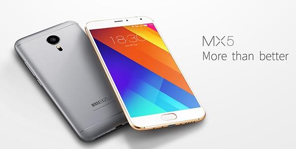 Špičkové Meizu MX5 v kovovém těle