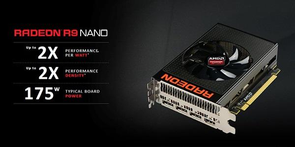 Ďábelská grafická karta AMD R9 Fury Nano