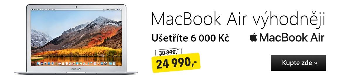 MacBook Air výhodněji