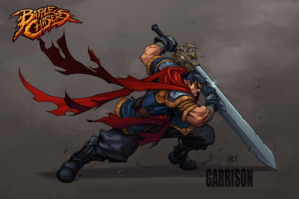 Battle Chasers: Nightwar; Artwork: Garrison