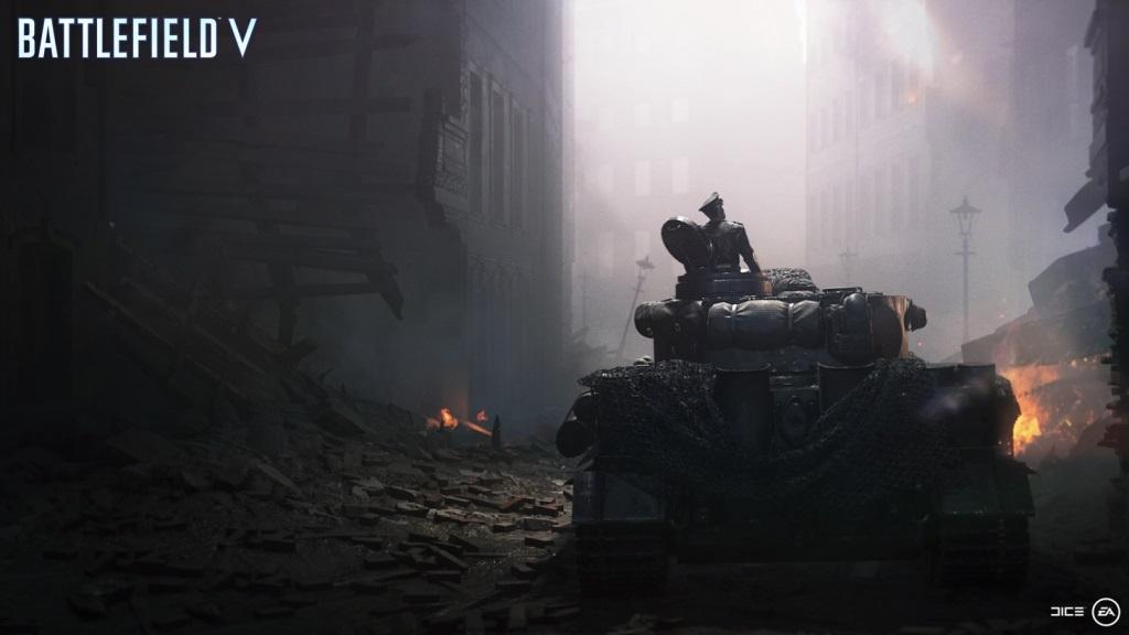 Nejočekávanější hry v listopad 2018; Battlefield V, screenshot: tank