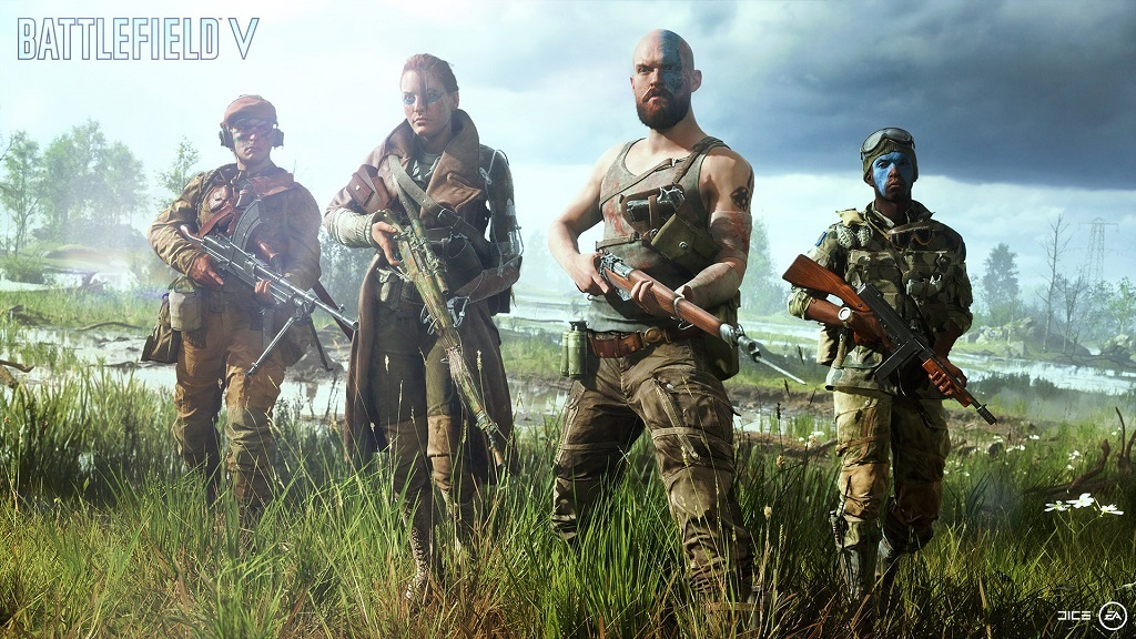 E3 2018; Battlefield V