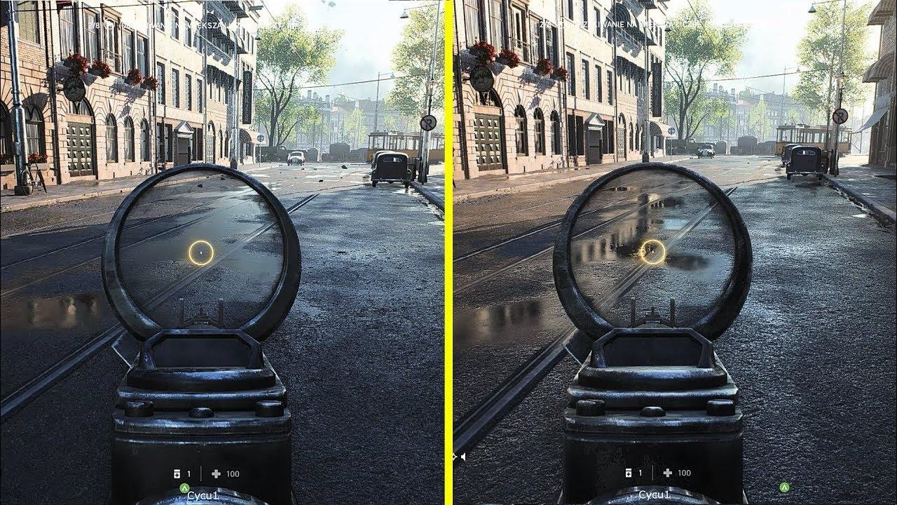 PlayStation 5; screenshot: Battlefield V – Ray Tracing