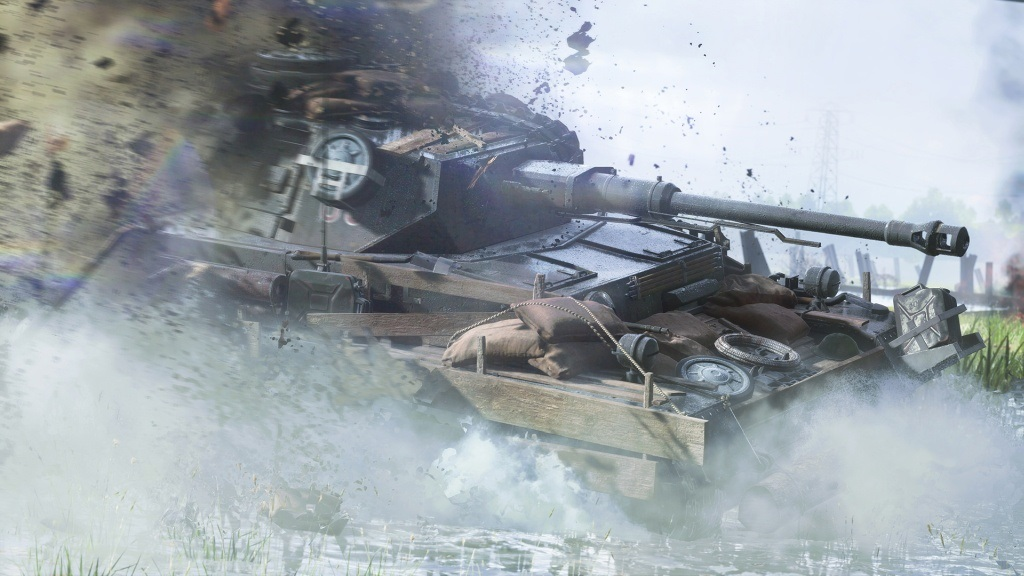 Battlefield 5; wallpaper: tank