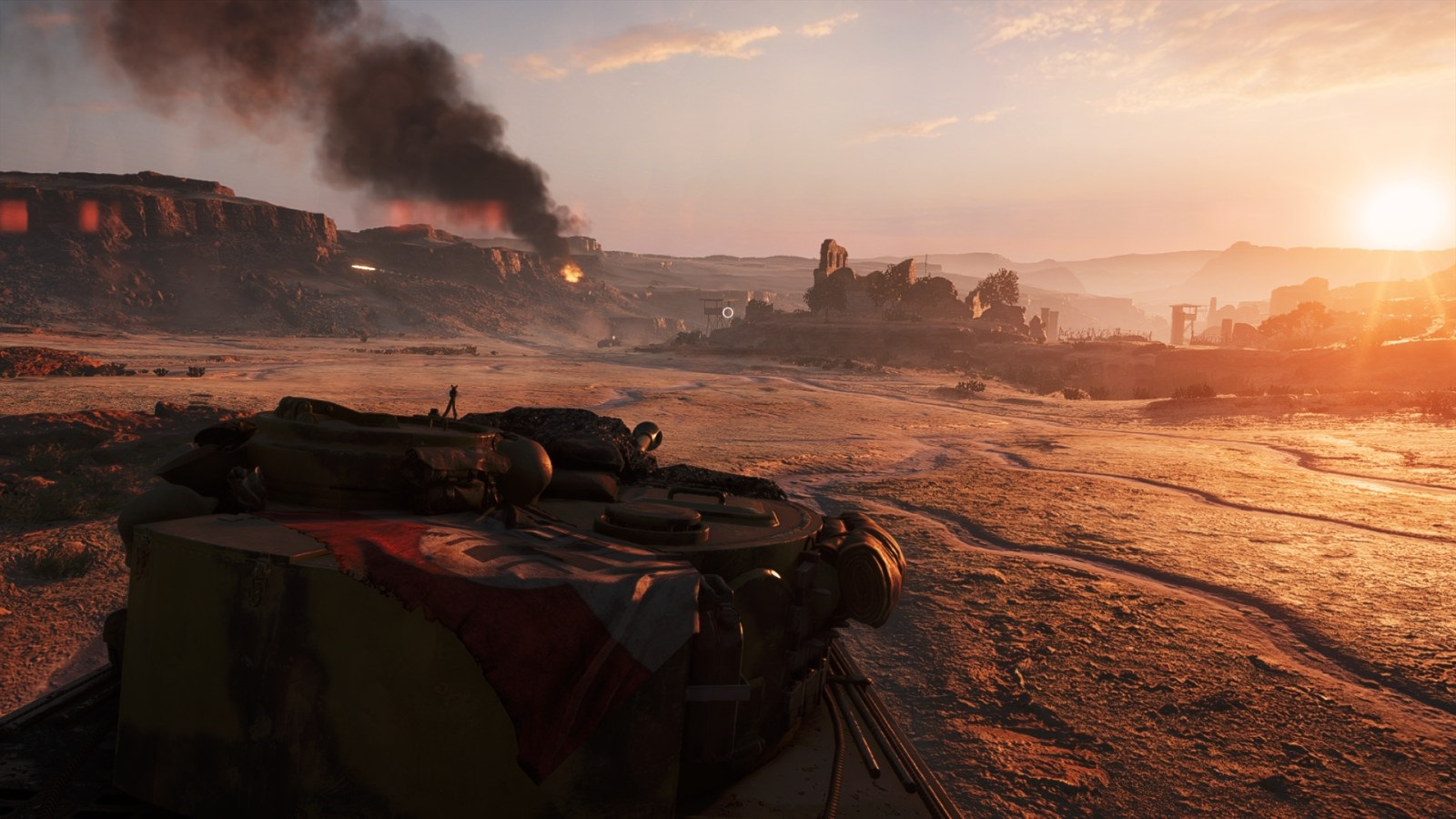 Battlefield V; gameplay: tank