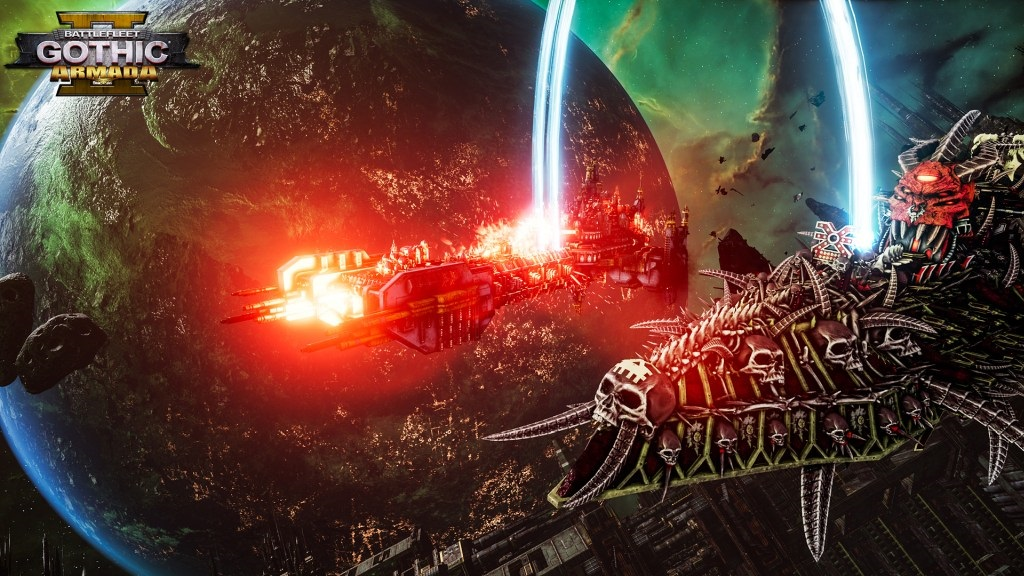 Battlefleet Gothic: Armada II; screenshot: chaos
