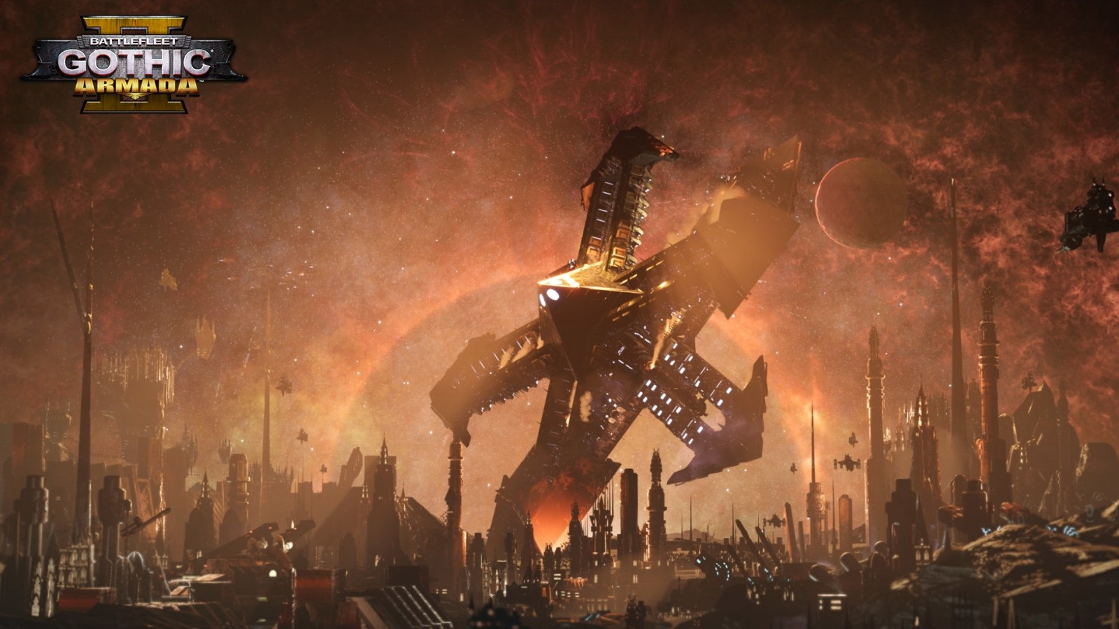 Battlefleet Gothic: Armada II; screenshot: příběh