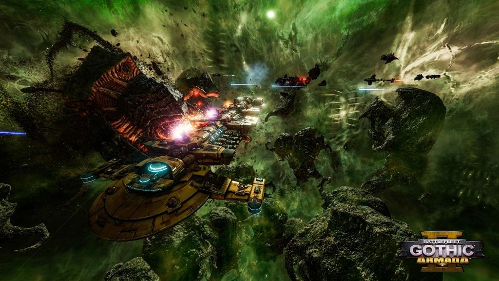 Battlefleet Gothic: Armada II; screenshot: Tau