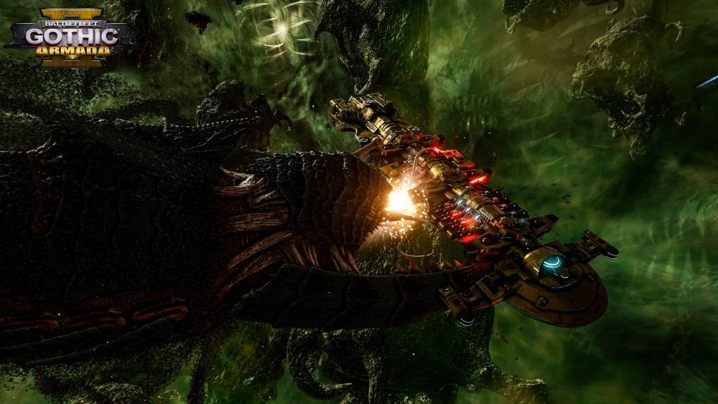 Battlefleet Gothic: Armada II; screenshot: Tyranid
