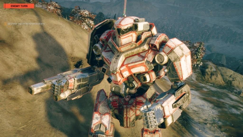 Nejlepší hry; BattleTech; screenshot: grafika