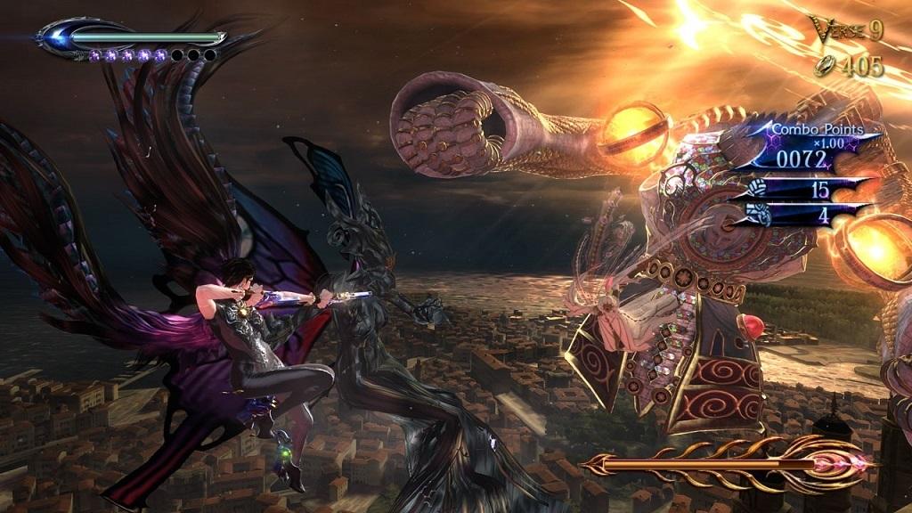 Nejlepší hry; Bayonetta 2; Gameplay, Boss