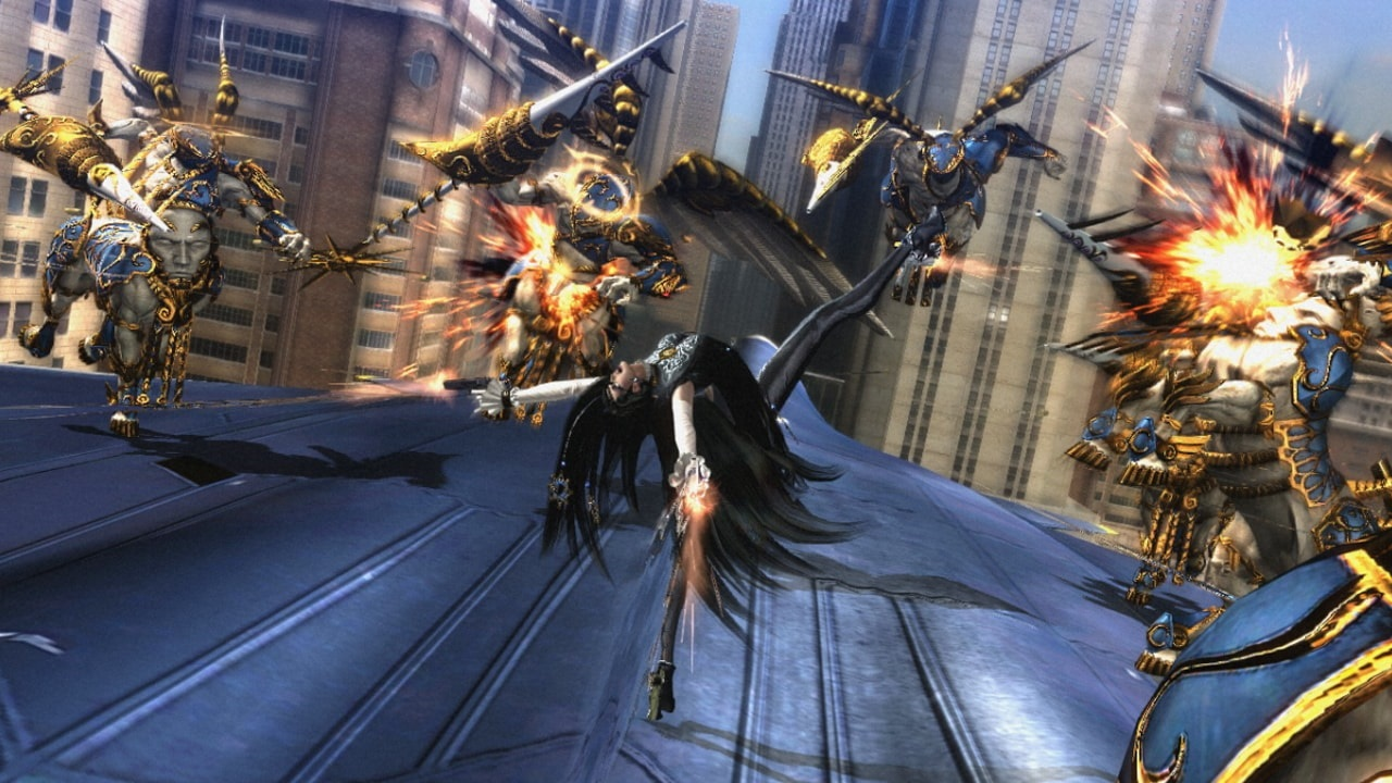 Bayonetta 2; screenshot