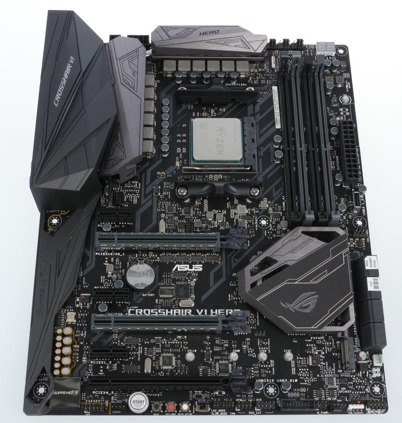 ASUS Crosshair VI Hero (X370)