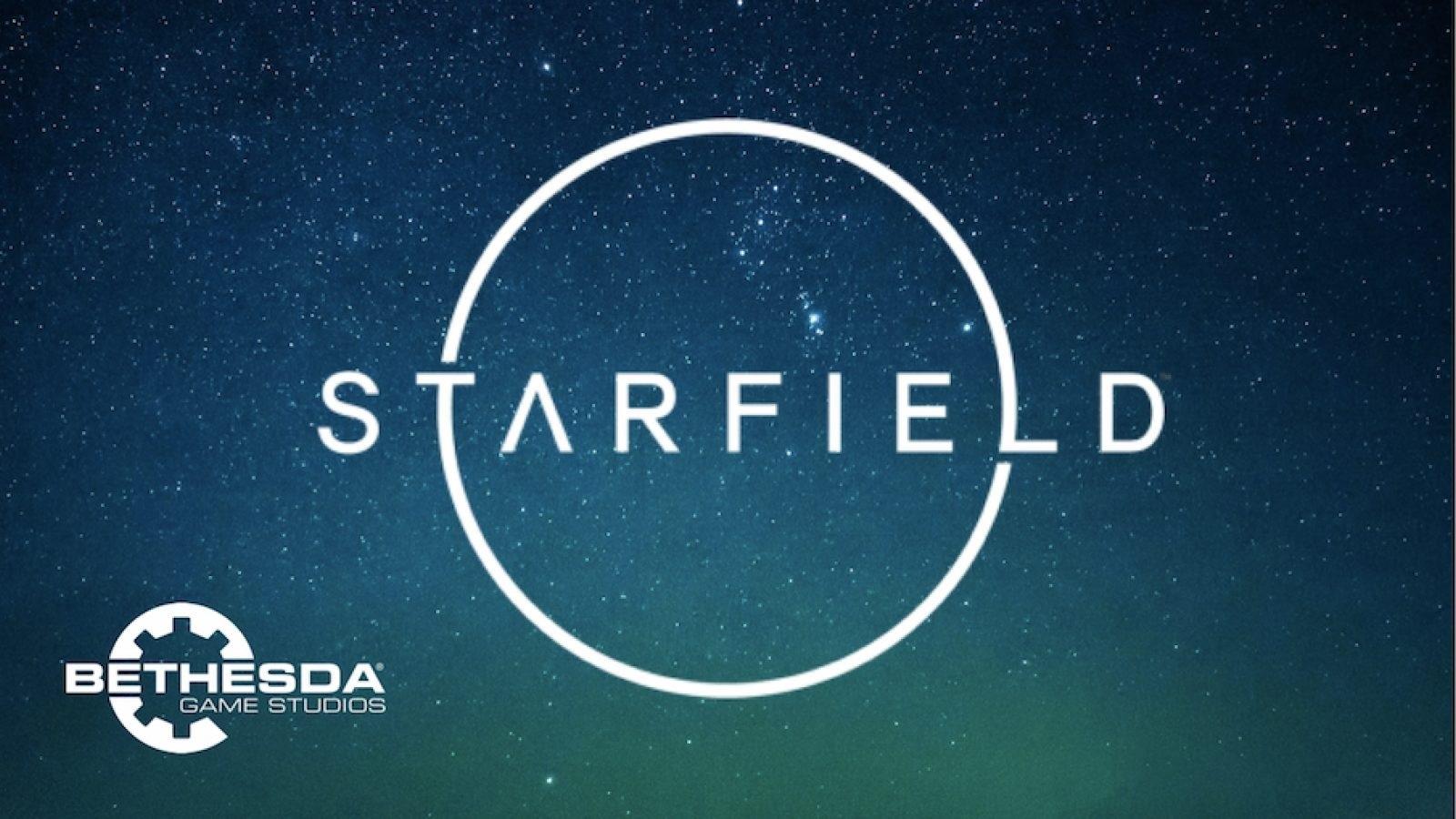 Starfield: screenshot: logo