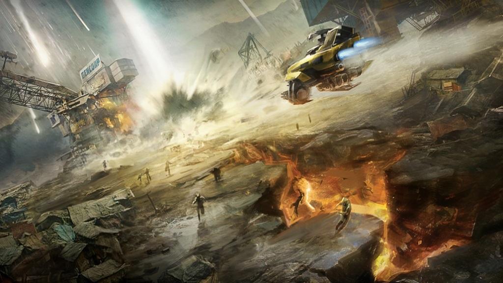 Beyond Good and Evil 2; Wallpaper: exploze