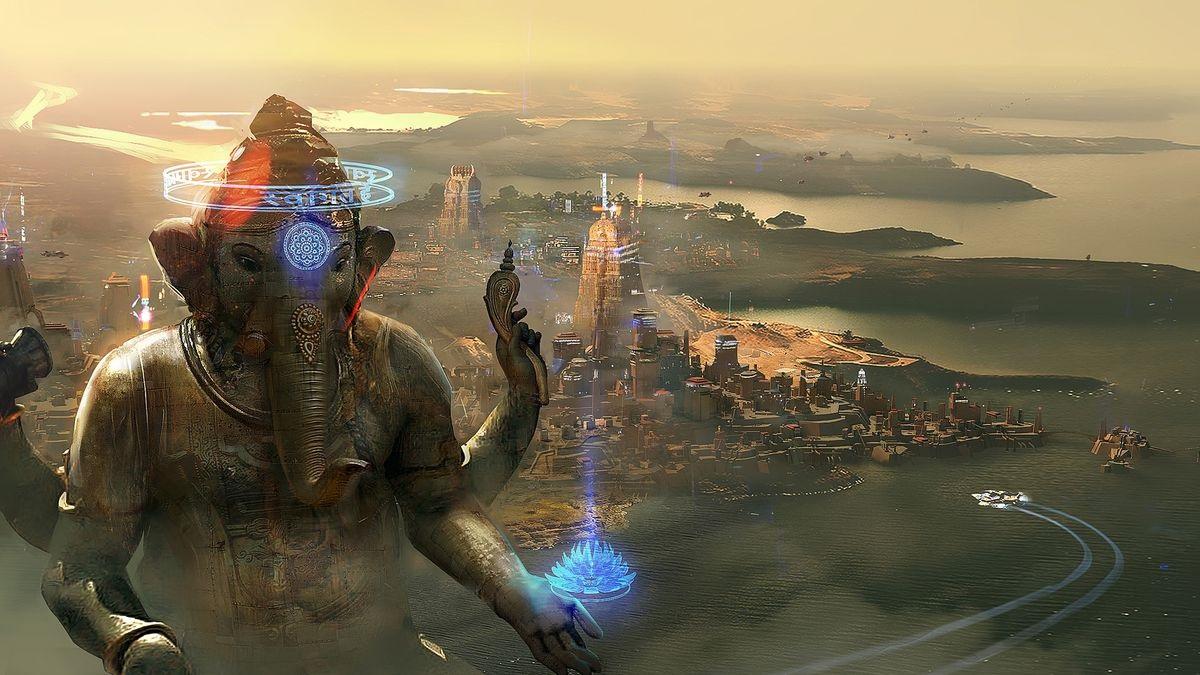 Beyond Good and Evil 2; Wallpaper: vesmírná kolonie
