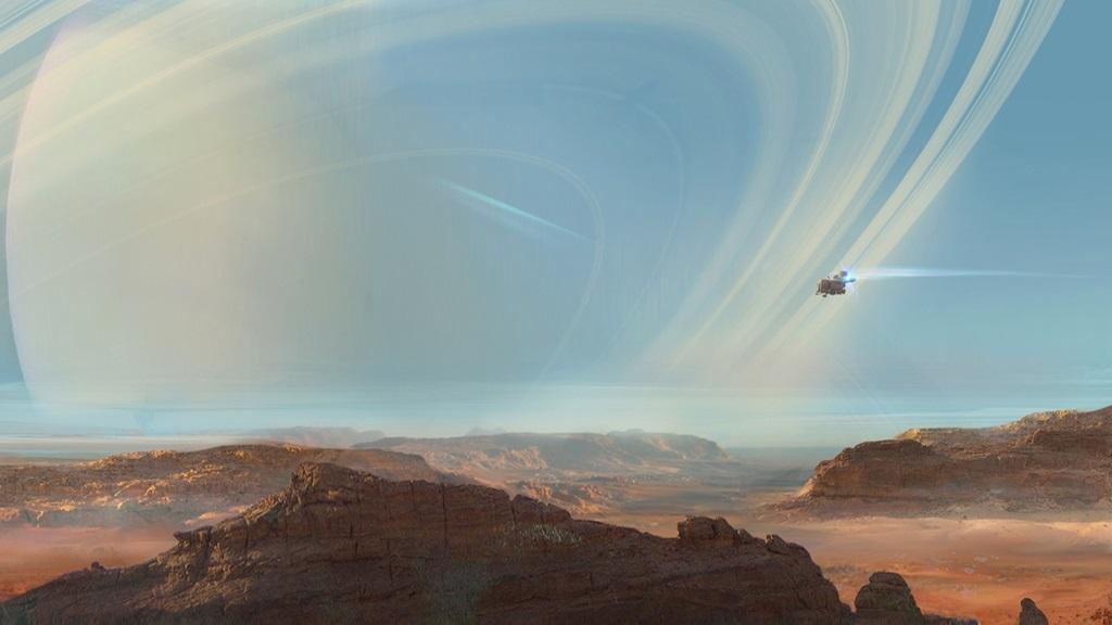 Beyond Good and Evil 2; Wallpaper: pouštní planeta