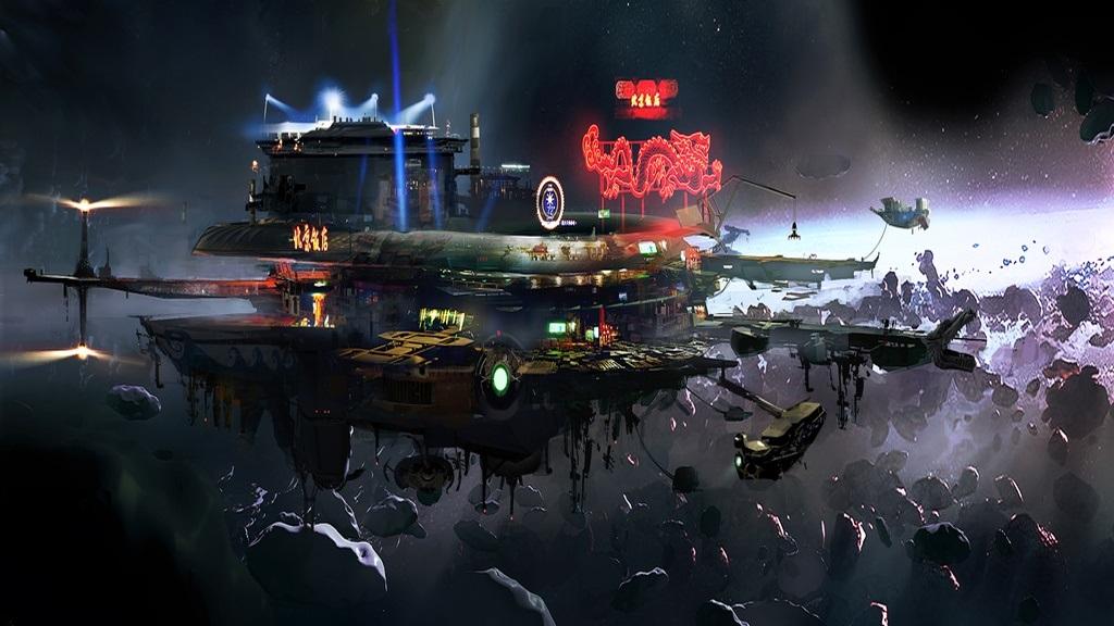 Beyond Good and Evil 2; Wallpaper: vesmírná stanice