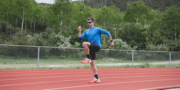 Běžec; běžecká abeceda; skipping