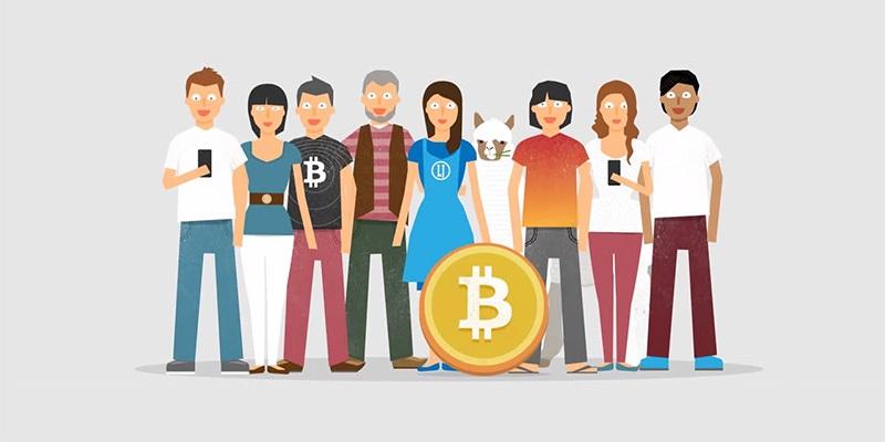 bitcoin; uživatelé; rodina